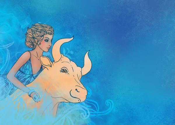 жената телец